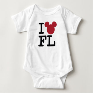 I Love Mickey | Florida Baby Bodysuit
