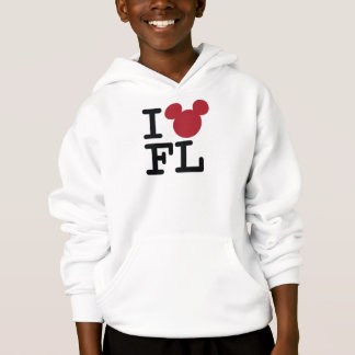 I Love Mickey   Florida Hoodie
