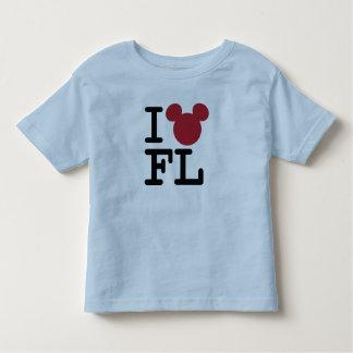 I Love Mickey   Florida Toddler T-shirt