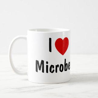 I Love Microbes Classic White Coffee Mug
