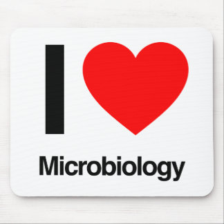 i love microbiology mouse pad