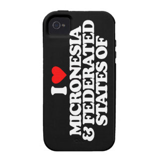 I LOVE MICRONESIA FEDERATED STATES OF CASE FOR THE iPhone 4