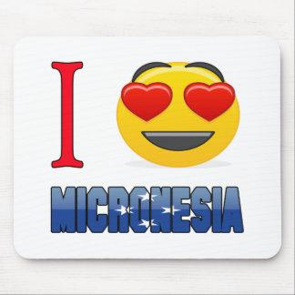 I love MICRONESIA. Mouse Pad