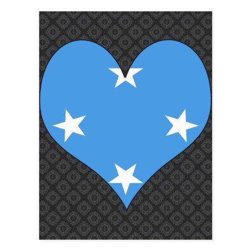 I Love Micronesia Postcard