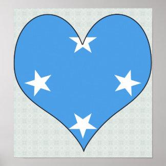 I Love Micronesia Poster