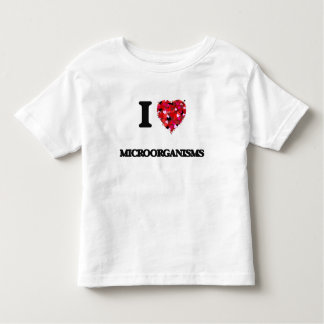 I Love Microorganisms Toddler T-shirt
