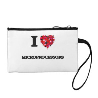 I Love Microprocessors Coin Wallet