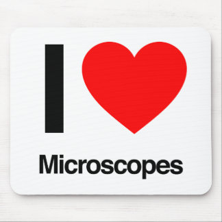 i love microscopes mouse pad