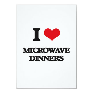I Love Microwave Dinners Announcement