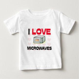 I Love Microwaves Baby T-Shirt