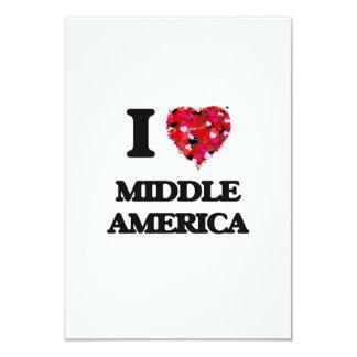 I Love Middle America 3.5x5 Paper Invitation Card