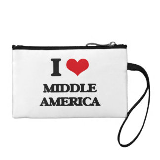 I Love Middle America Coin Wallet