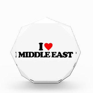 I LOVE MIDDLE EAST ACRYLIC AWARD