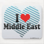 I Love Middle East Mouse Pad