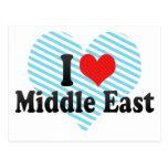 I Love Middle East Postcard