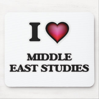 I Love Middle East Studies Mouse Pad
