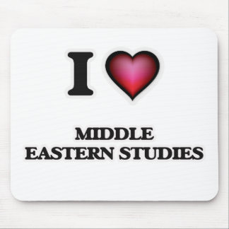 I Love Middle Eastern Studies Mouse Pad
