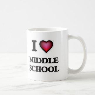 I Love Middle School Coffee Mug