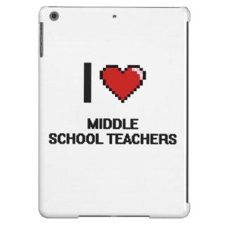 I love Middle School Teachers iPad Air Cases