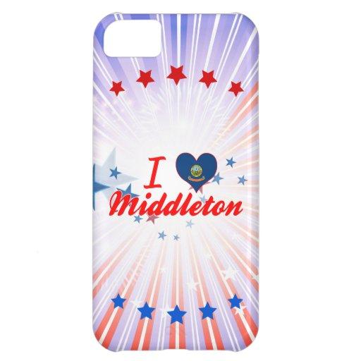 I Love Middleton, Idaho Case For iPhone 5C
