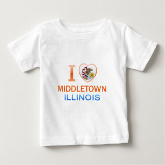 I Love Middletown, IL Tee Shirts