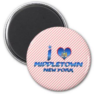 I love Middletown, New York Magnet