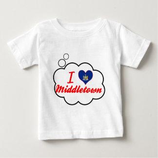I Love Middletown, New York T Shirts