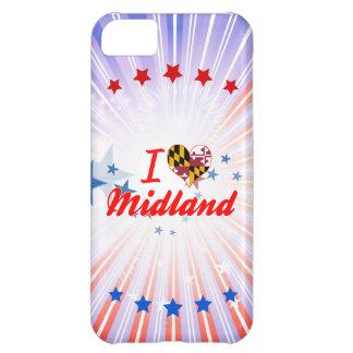 I Love Midland, Maryland iPhone 5C Covers