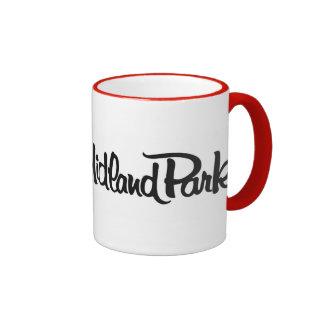 I Love Midland Park Mug - Dazzling Red 11 oz