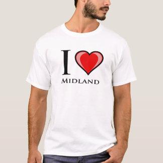 I Love Midland T-Shirt