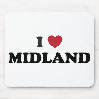 I Love Midland Texas Mouse Pad