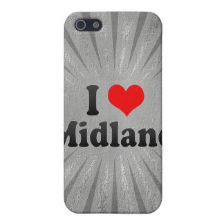 I Love Midland, United States iPhone 5 Case