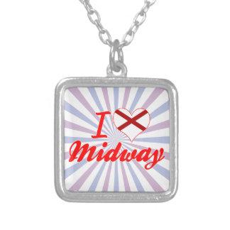 I Love Midway, Alabama Necklace