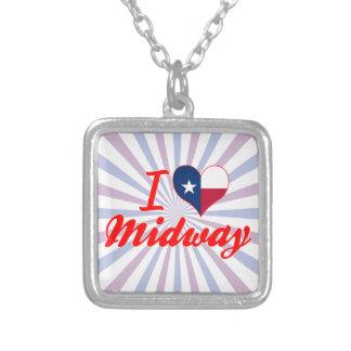 I Love Midway, Texas Custom Jewelry