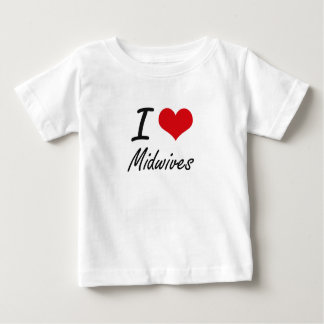I Love Midwives T Shirts