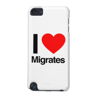 i love migrates iPod touch 5G cases