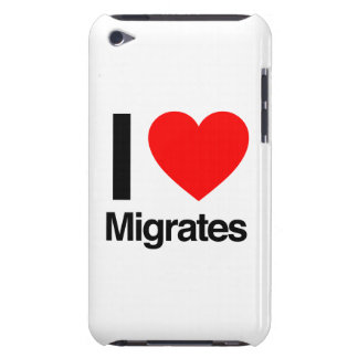 i love migrates iPod touch Case-Mate case