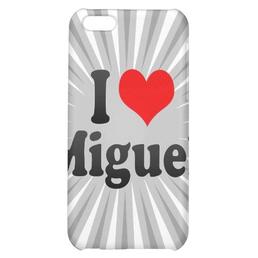 I love Miguel iPhone 5C Case
