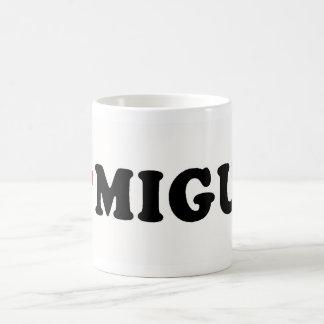 I LOVE MIGUEL COFFEE MUG