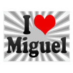 I love Miguel Postcards