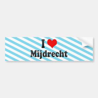 I Love Mijdrecht, Netherlands Bumper Sticker