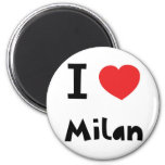 I love Milan Fridge Magnet