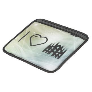 I Love Milan iPad Sleeves