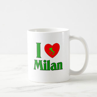 I Love Milan Italy Mug