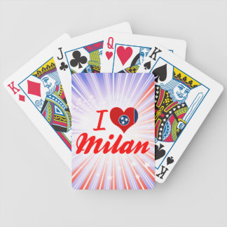 I Love Milan, Tennessee Bicycle Card Deck