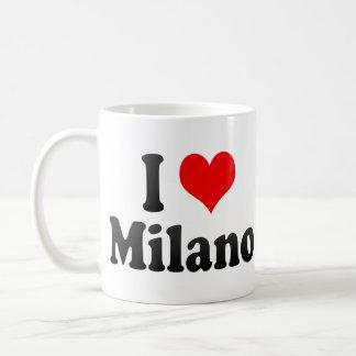 I Love Milano, Italy Classic White Coffee Mug