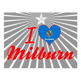 I Love Milburn Oklahoma Postcards