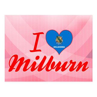 I Love Milburn Oklahoma Post Cards