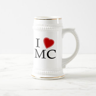 I Love Mile-High City Beer Stein