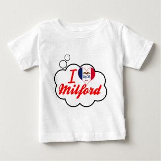 I Love Milford, Iowa Tee Shirt